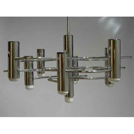 Chrome vintage design hanging lamp 6