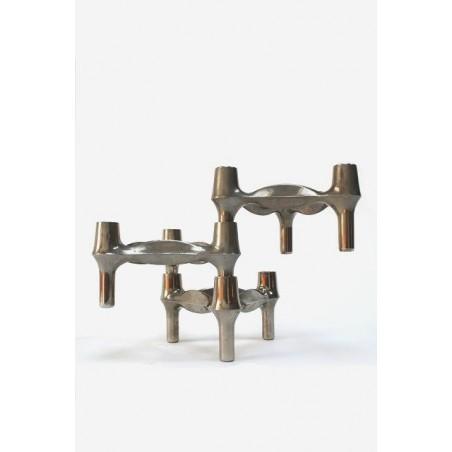 Stackable candleholders Nagel set of 3