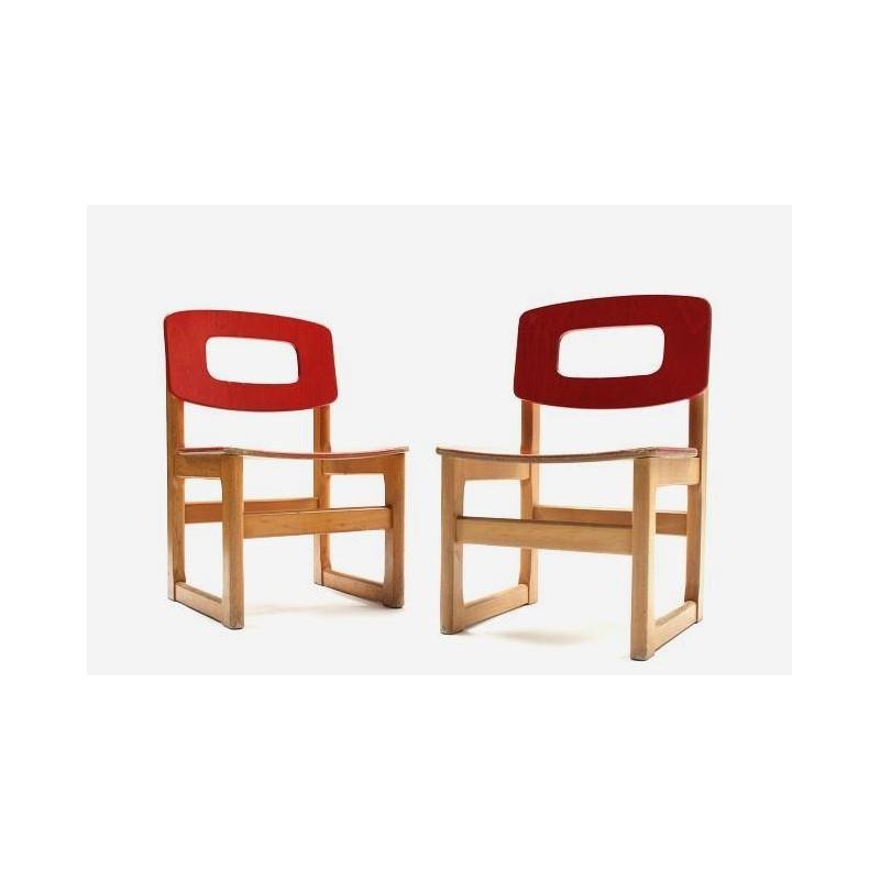 Set of 2 Hukit children's chairs