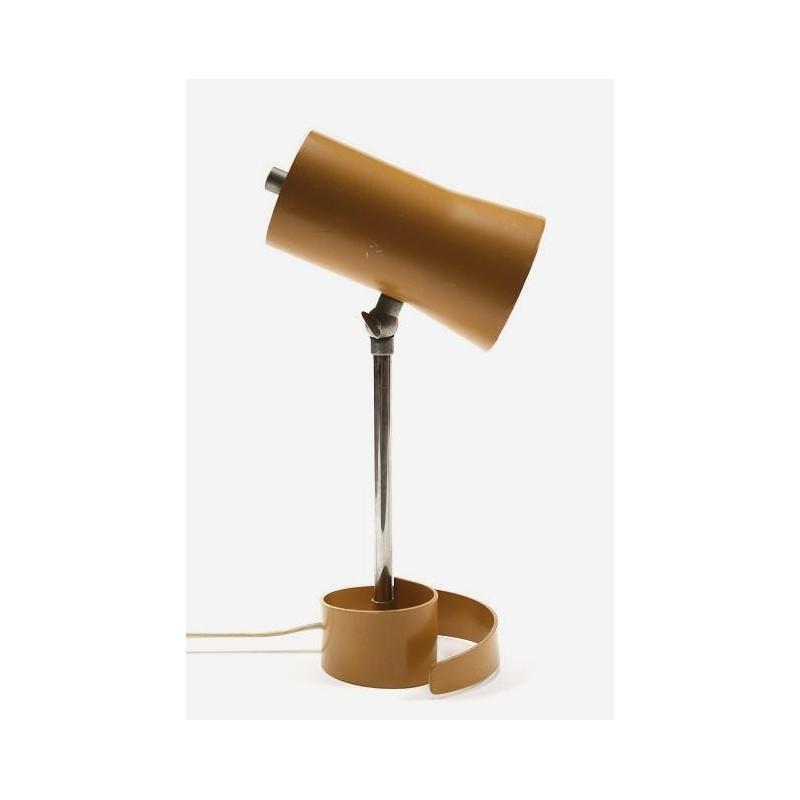 Tafellamp op gekrulde voet