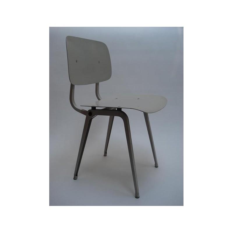 Revolt stoel van Friso Kramer licht grijs