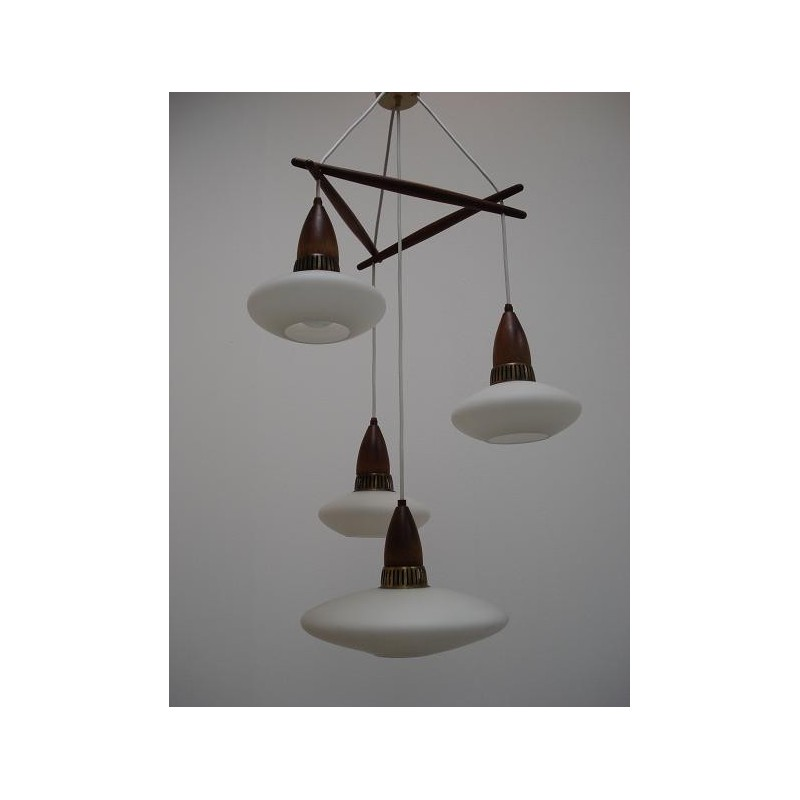 Scandinavian sixties hanging lamp