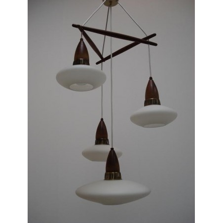Scandinavian sixties hanging lamp