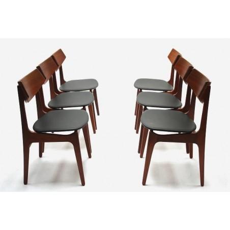Set of 6 Funder-Schmidt & Madsen chairs