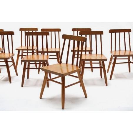 Wooden child's chair
