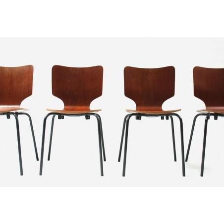 Set van 4 stoelen van DUBA