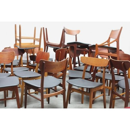 Scandinavische stoelen verschillende modellen