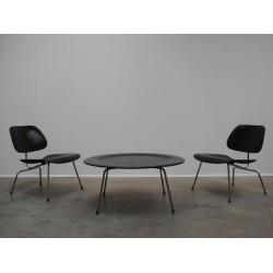 Eames LCM stoelen & CTM salontafel set