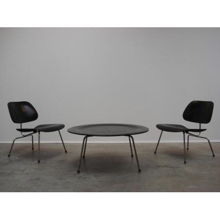 Eames LCM chairs & CTM coffee table set