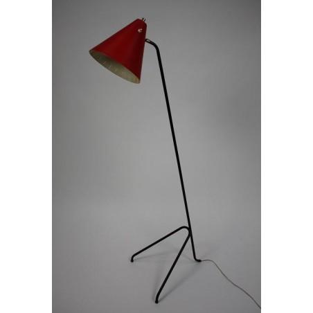 Fifties staande vloerlamp