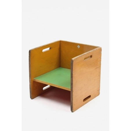 Child's chair in Rietveld/ ADO style