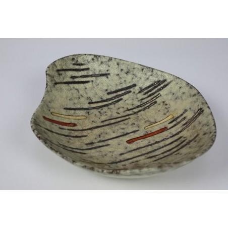 Vintage aardewerk schaal