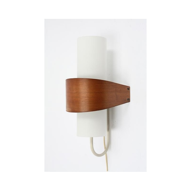 Plywood walllamp by Philips