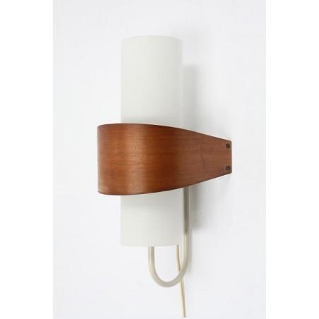 Plywood wandlamp van Philips