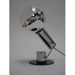 Chrome italian design table lamp