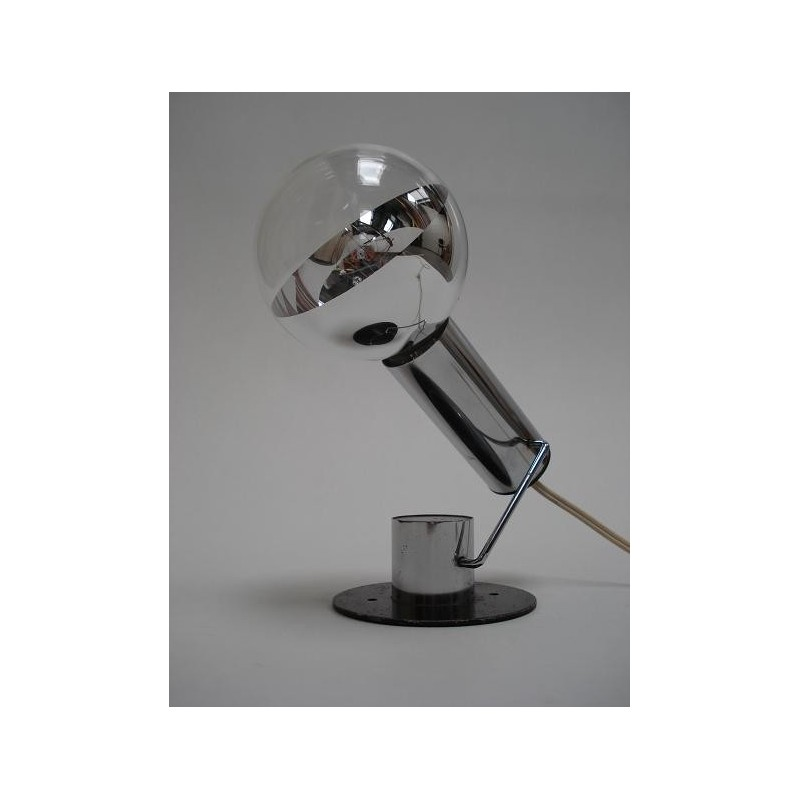 Chromen italiaanse design tafellamp