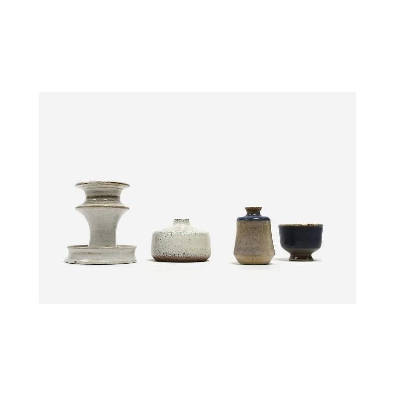 Set of 4 miniature Zaalberg vases