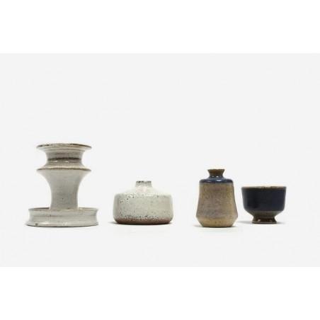 Set van 4 miniatuur Zaalberg vaasjes