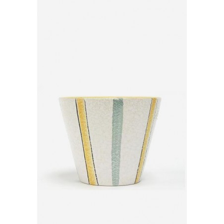 ADCO flowerpot yellow/ green
