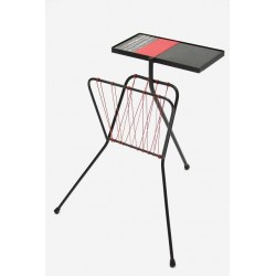 Side table and magazine rack 1950's
