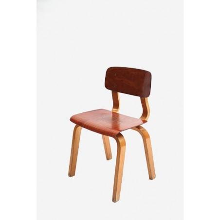 Childeren's schoolchair with plywood