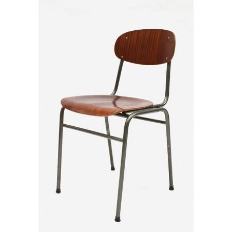 Industrial danish chair