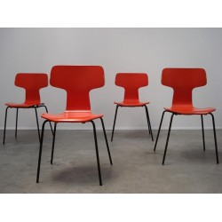 Arne Jacobsen Grand Prix stoelen 3130 set...