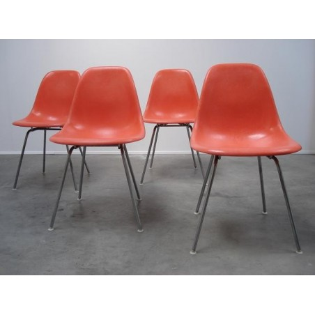4 DSX- chairs by Eames