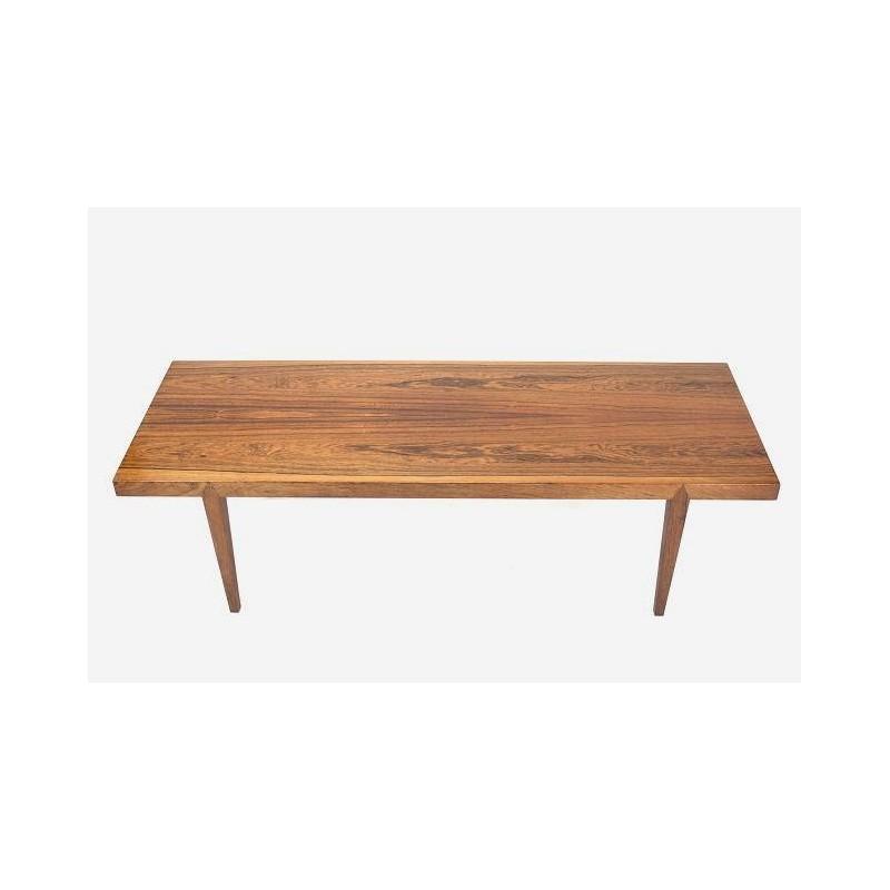 Rosewood side table by Johannes Andersen