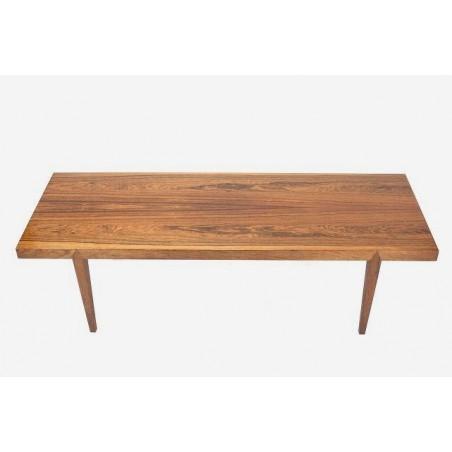 Palissander houten salontafel van Johannes Andersen