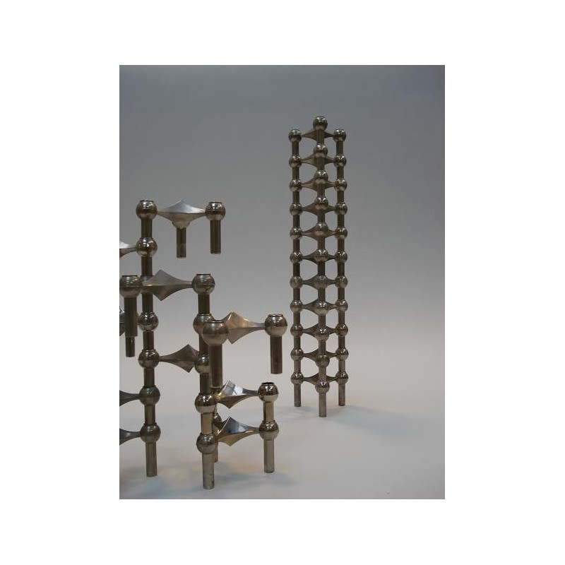 Stackable candelholders by Nagel