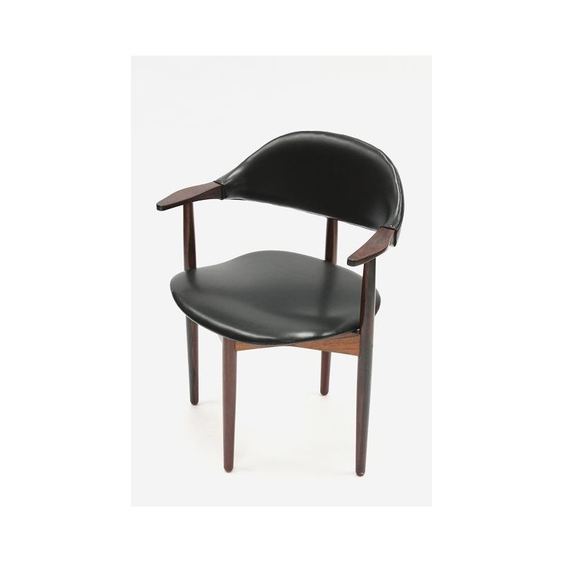 Rosewood desk chair