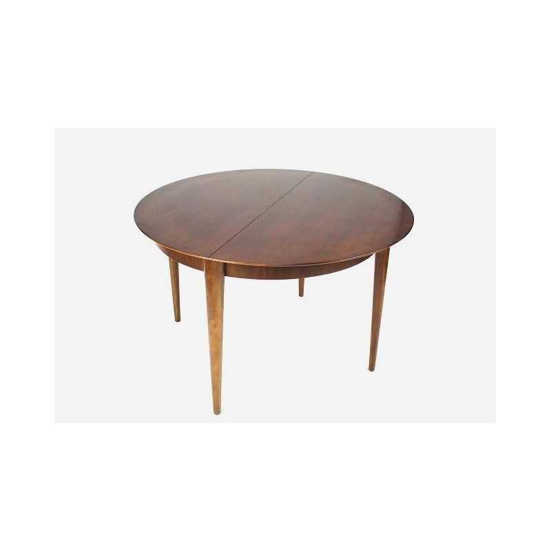 Round dining table from the 1960's