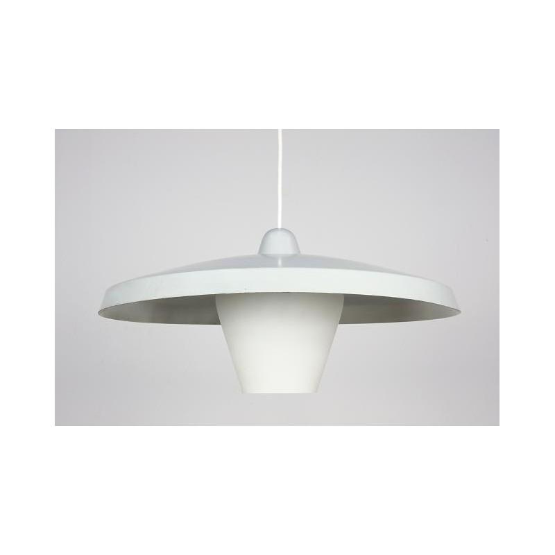 Industrial hanging lamp grey