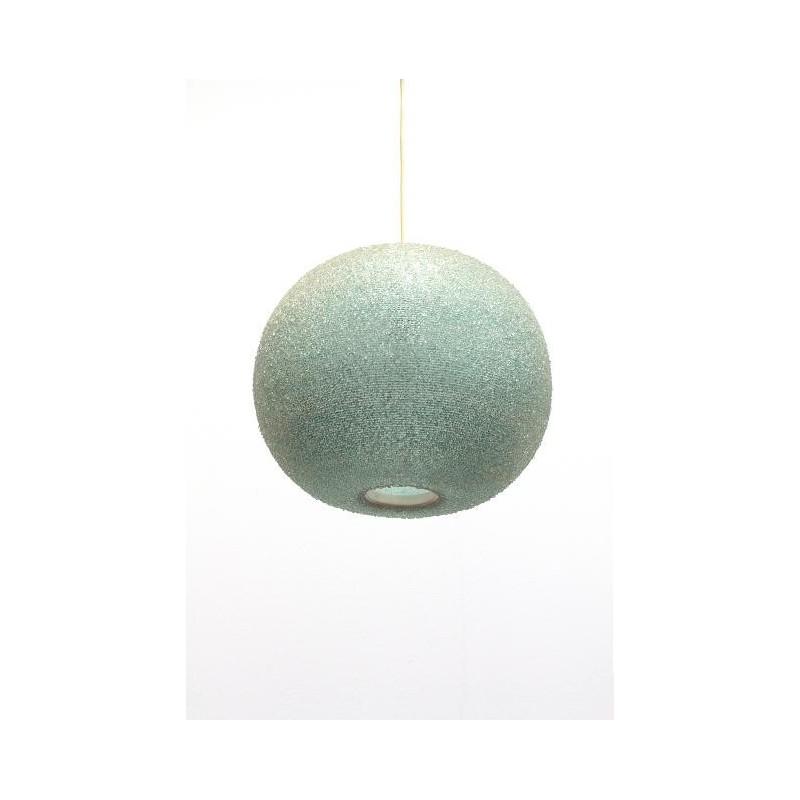 Sugar-like hanging lamp blue