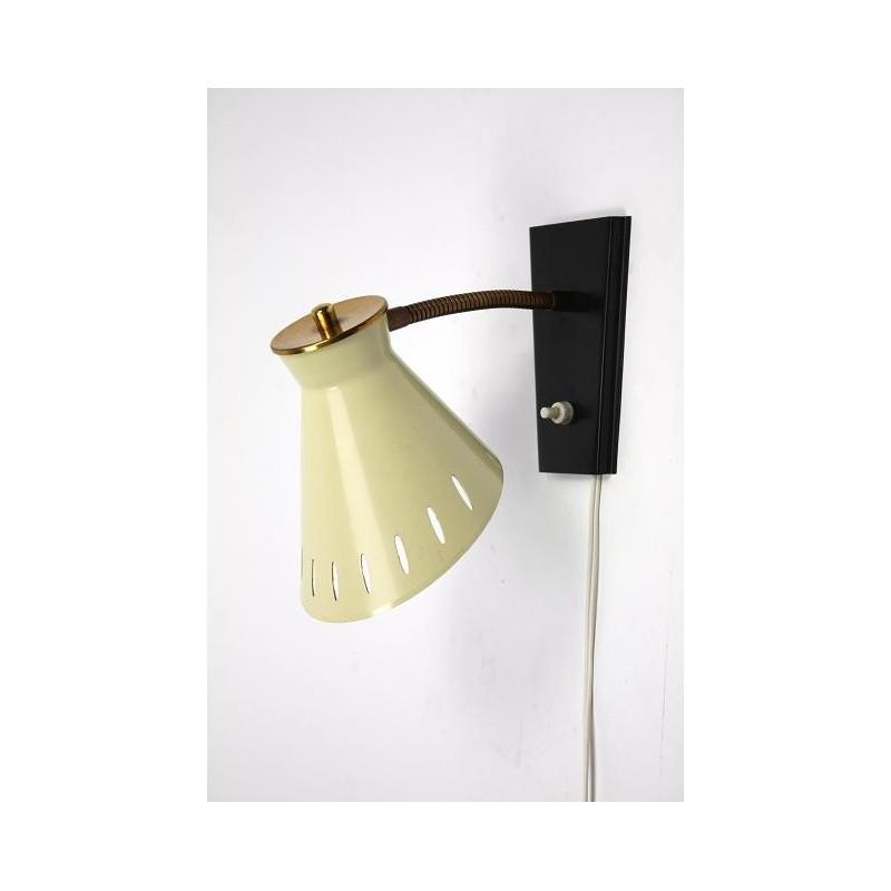 Wandlamp uit de jaren 50/60