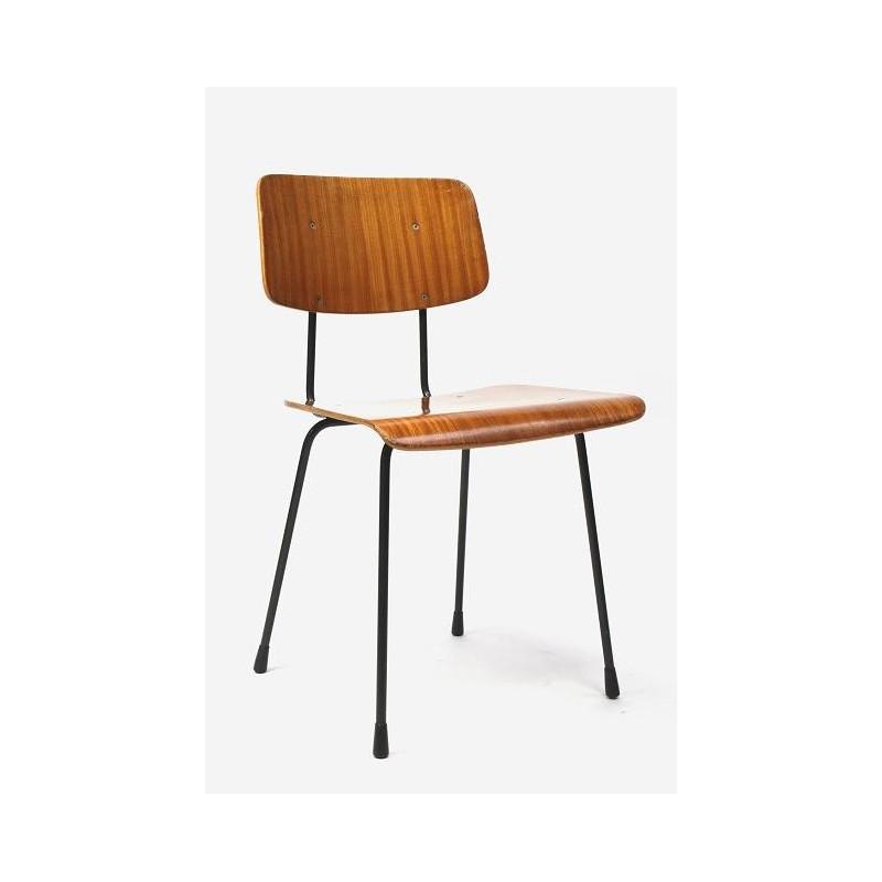 Gispen stoel van Cordemeijer hout