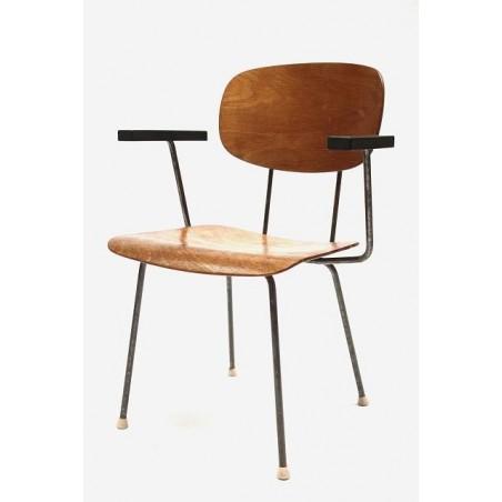Gispen stoel van Wim Rietveld
