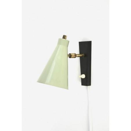 Grijze wandlamp jaren 60