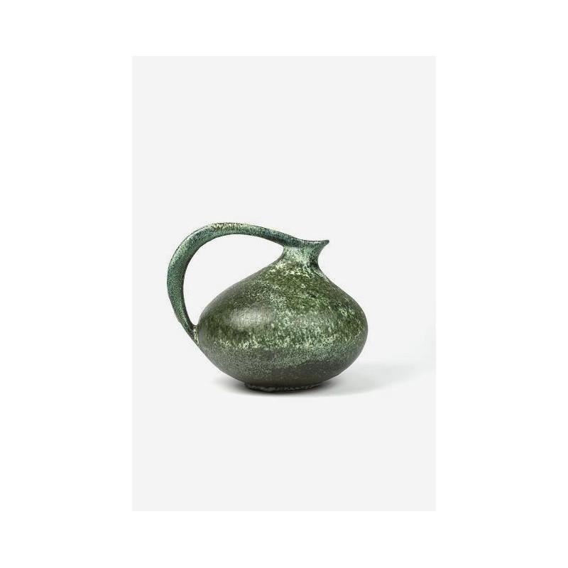 Ruscha West-Germany  jug/ vase green