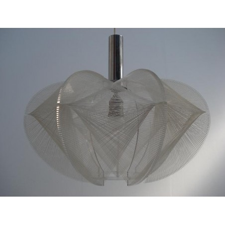 Plexiglass nylon wire hanging lamp