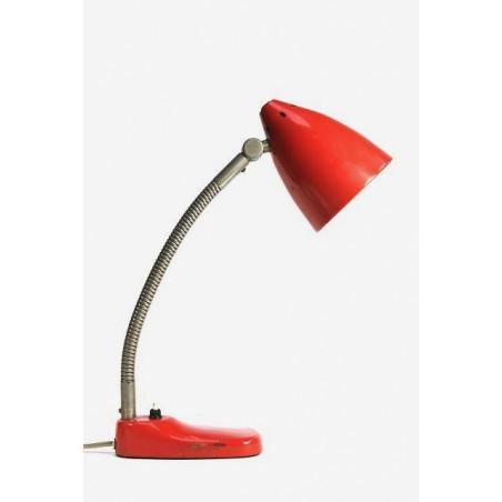 Bureaulamp van Hala roze/rood