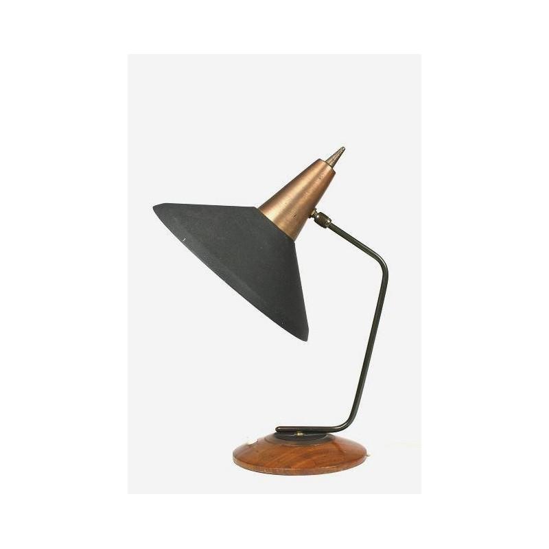 Black/ brass desk lamp