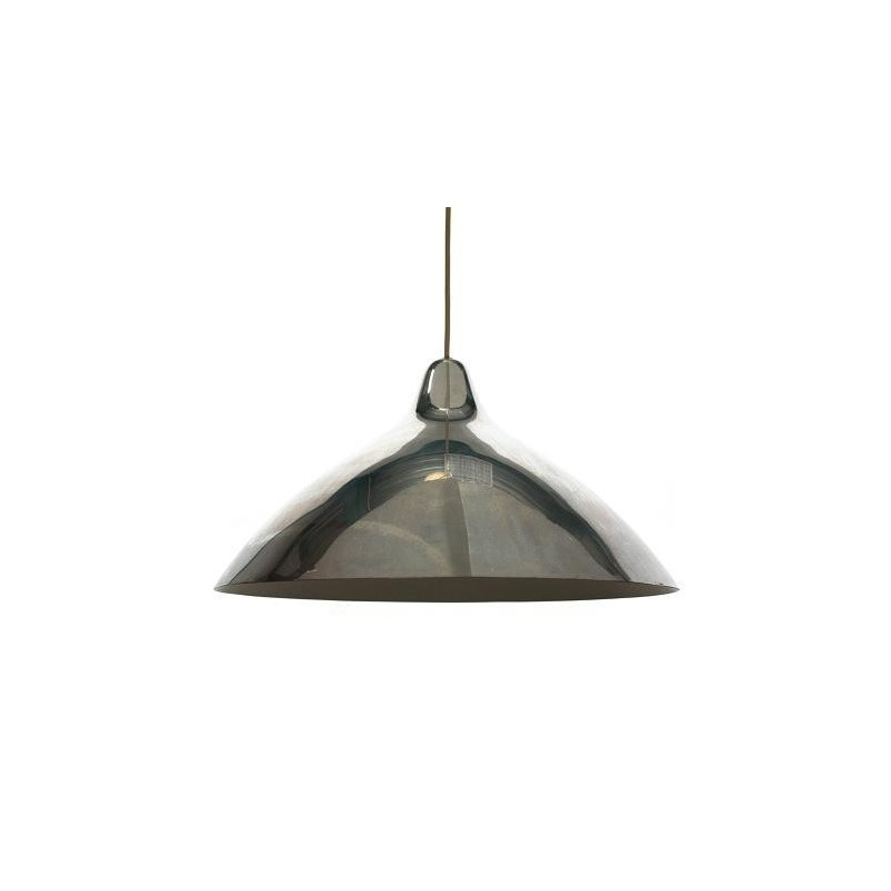 vintage Lisa Johanssen-Pape hanglamp chroom