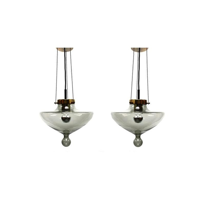 Set of 2 Raak drops lamps