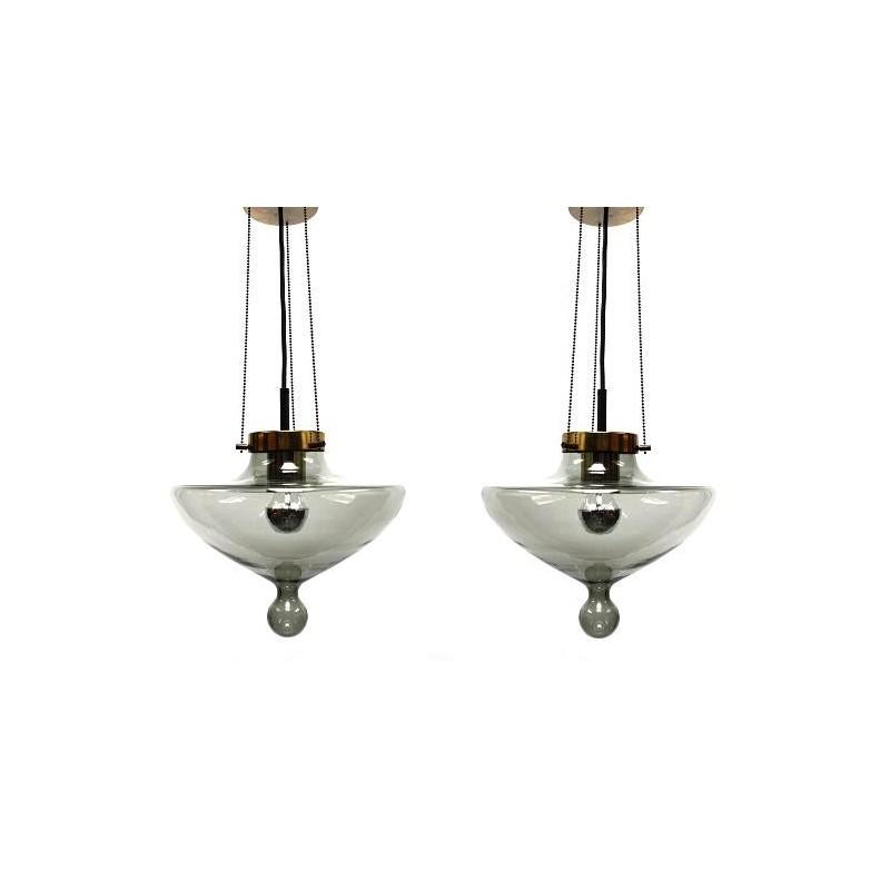 Set van 2 Raak druppel hanglampen