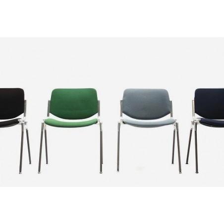 Set van 4 Castelli stoelen in verschillende kleuren