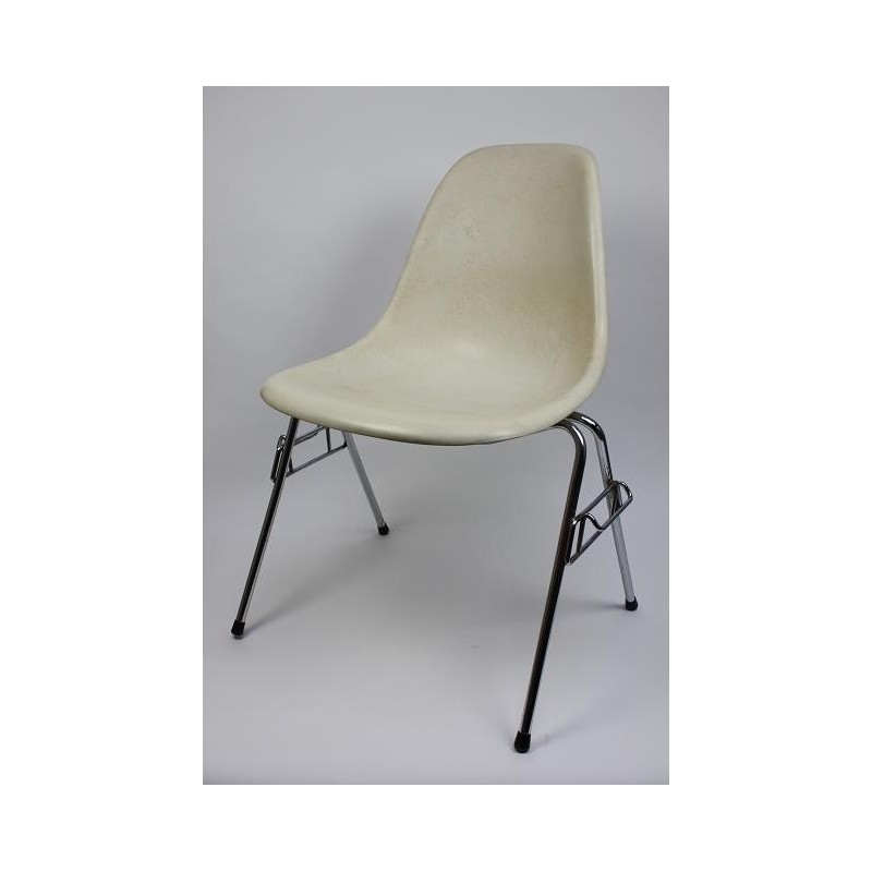 Eames DSS stoel in wit