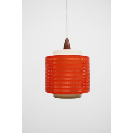 Orange haning lamp from the 1960's