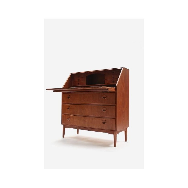Secretaire in teak from Denmark